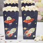 8 kpl - Space Adventure popcornkipot